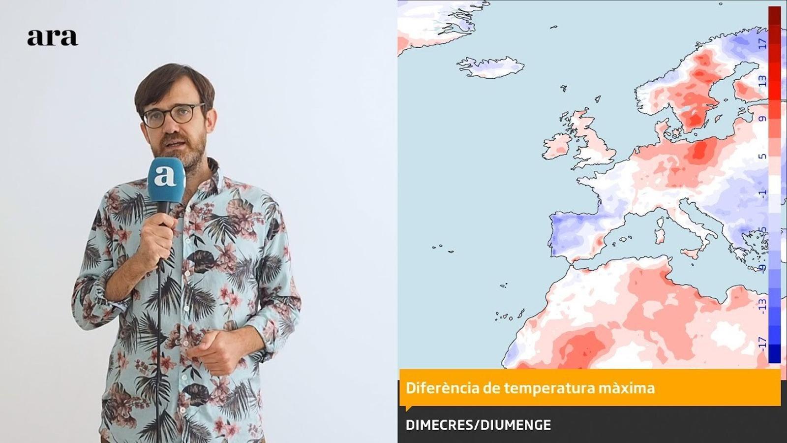 La méteo: temperatures de fins a 40 graus abans del cap de setmana