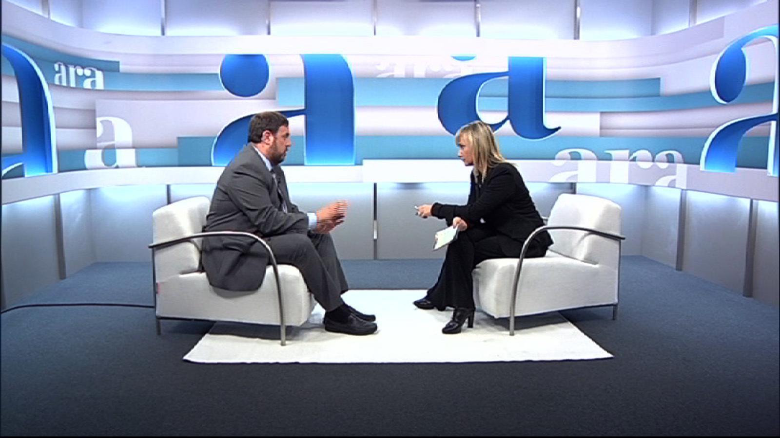 Negociar amb l'estat espanyol no té sentit, avançament de l'entrevista a Oriol Junqueras amb Mònica Terribas