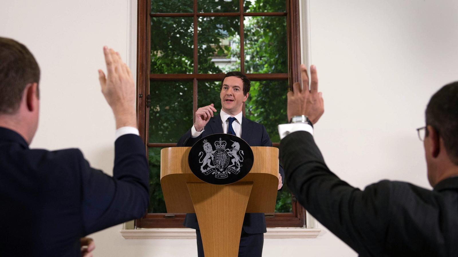 El ministre de Finances britànic intenta calmar els mercats després del Brexit