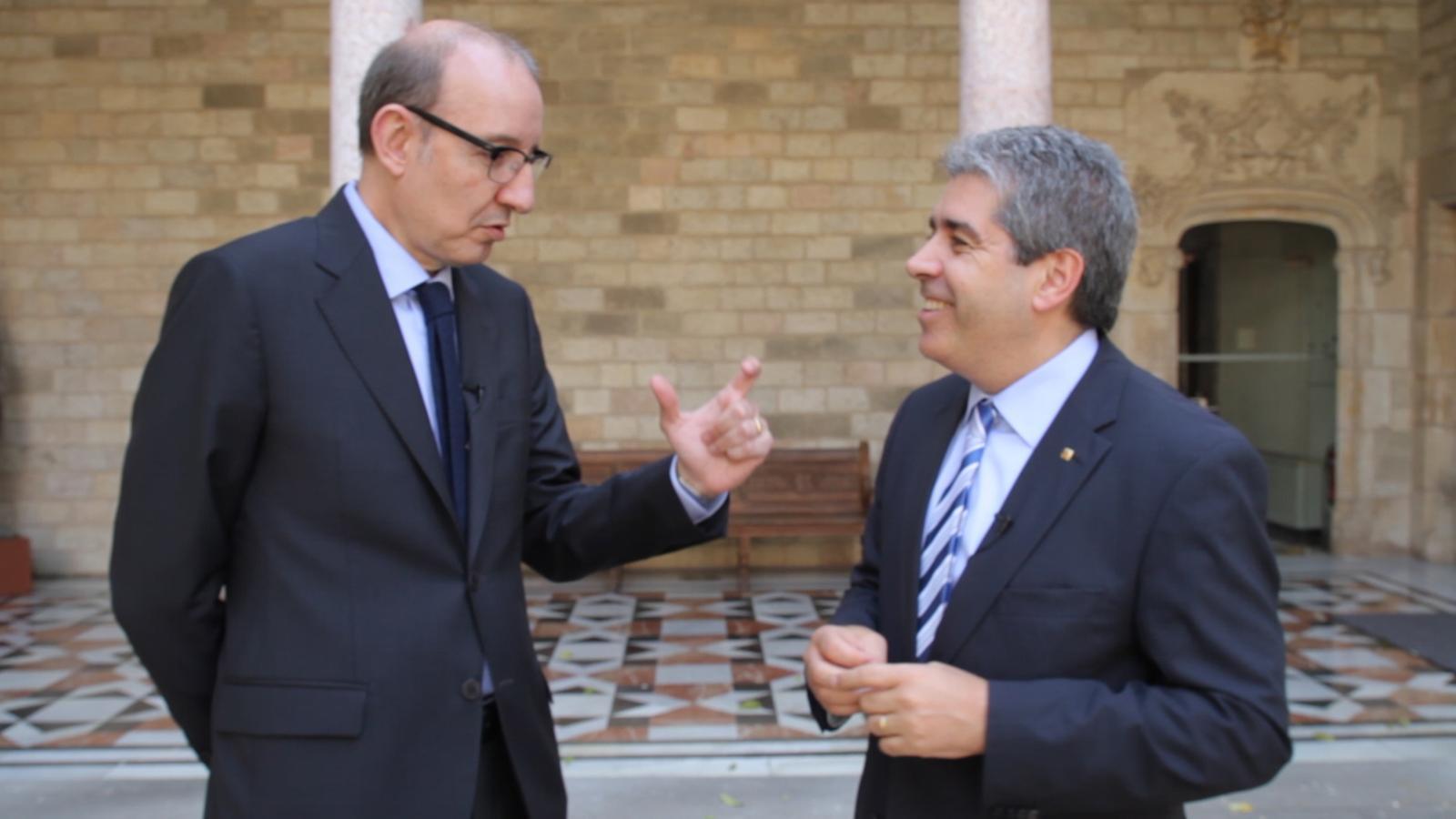 Francesc Homs: Catalunya va guanyar el debat del Congrés perquè ha superat la captivitat
