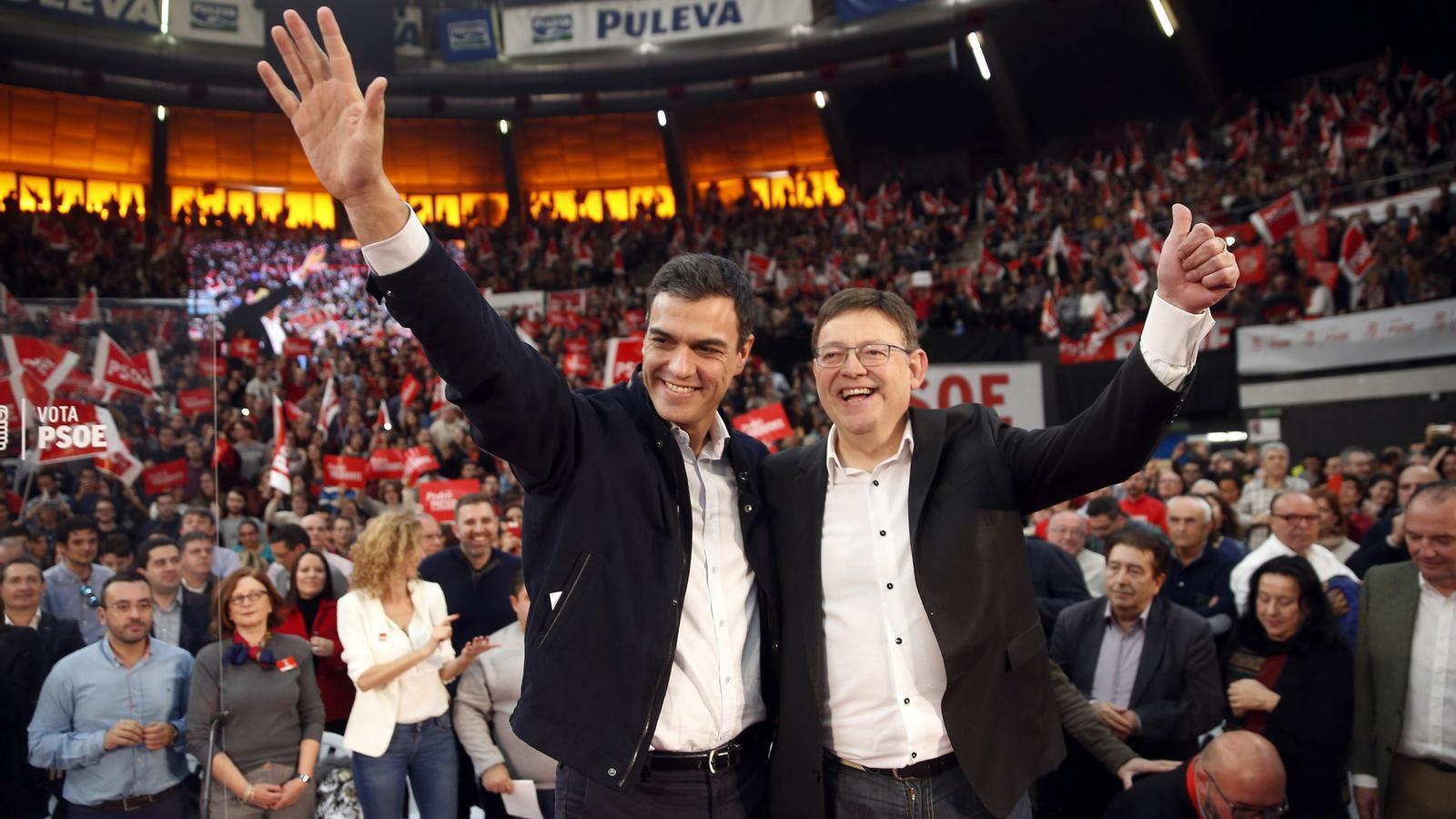 El PSOE obliga el PSPV a renunciar a la coalició al Senat amb Podem i Compromís