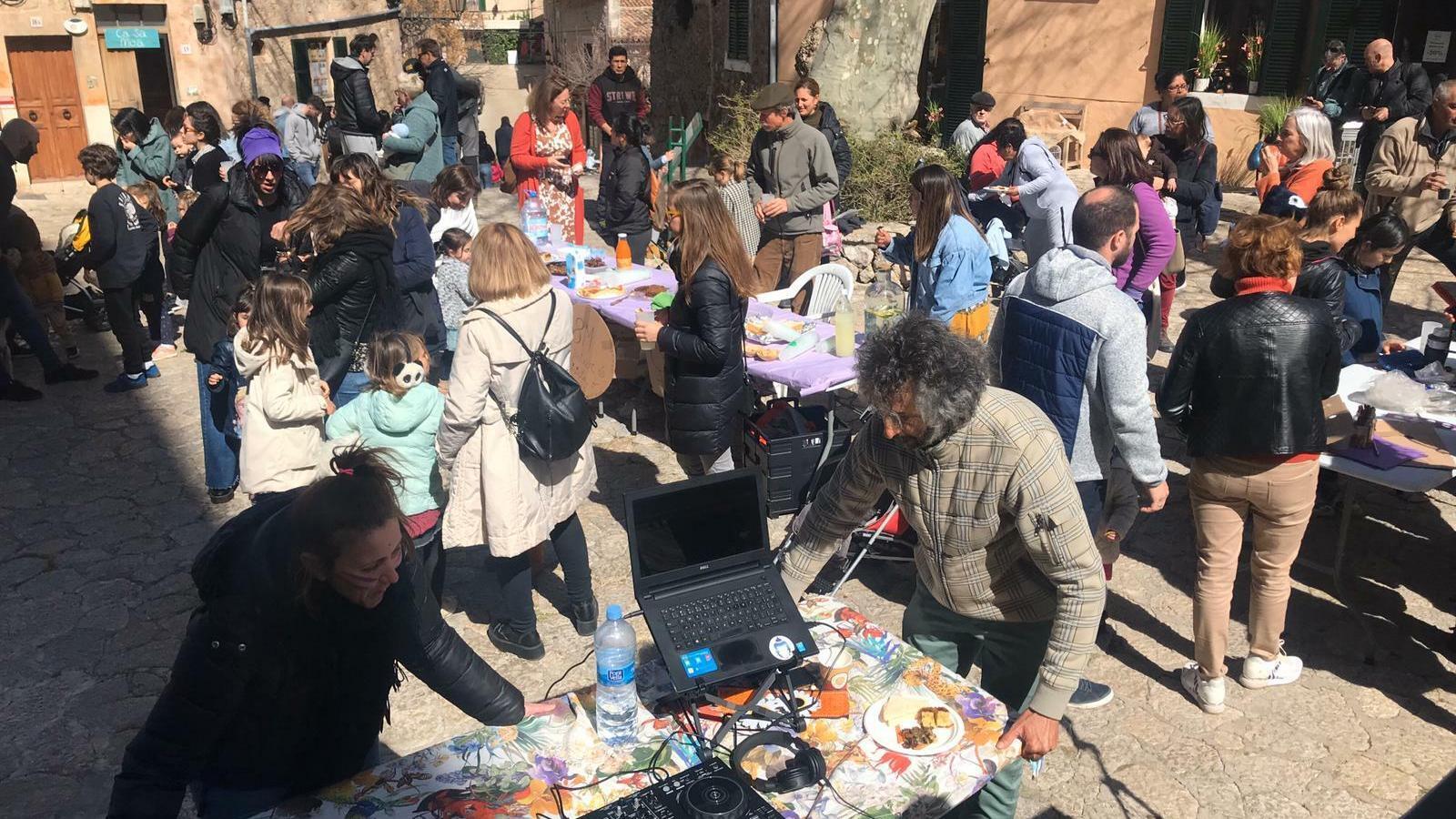 Valldemossa celebra per primera vegada el 8M
