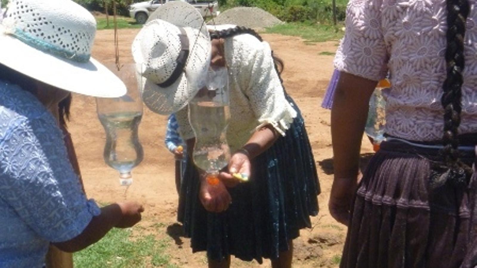 Millora de la governabilitat i l'accés a l'aigua potable a Pocona, Bolívia
