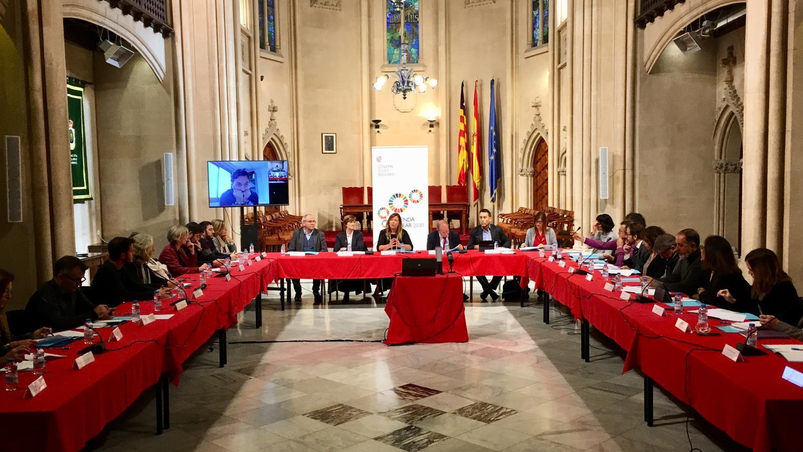 Avui s'ha celebrat la 18a sessió ordinària del Consell de Salut de les Illes Balears./ GOIB