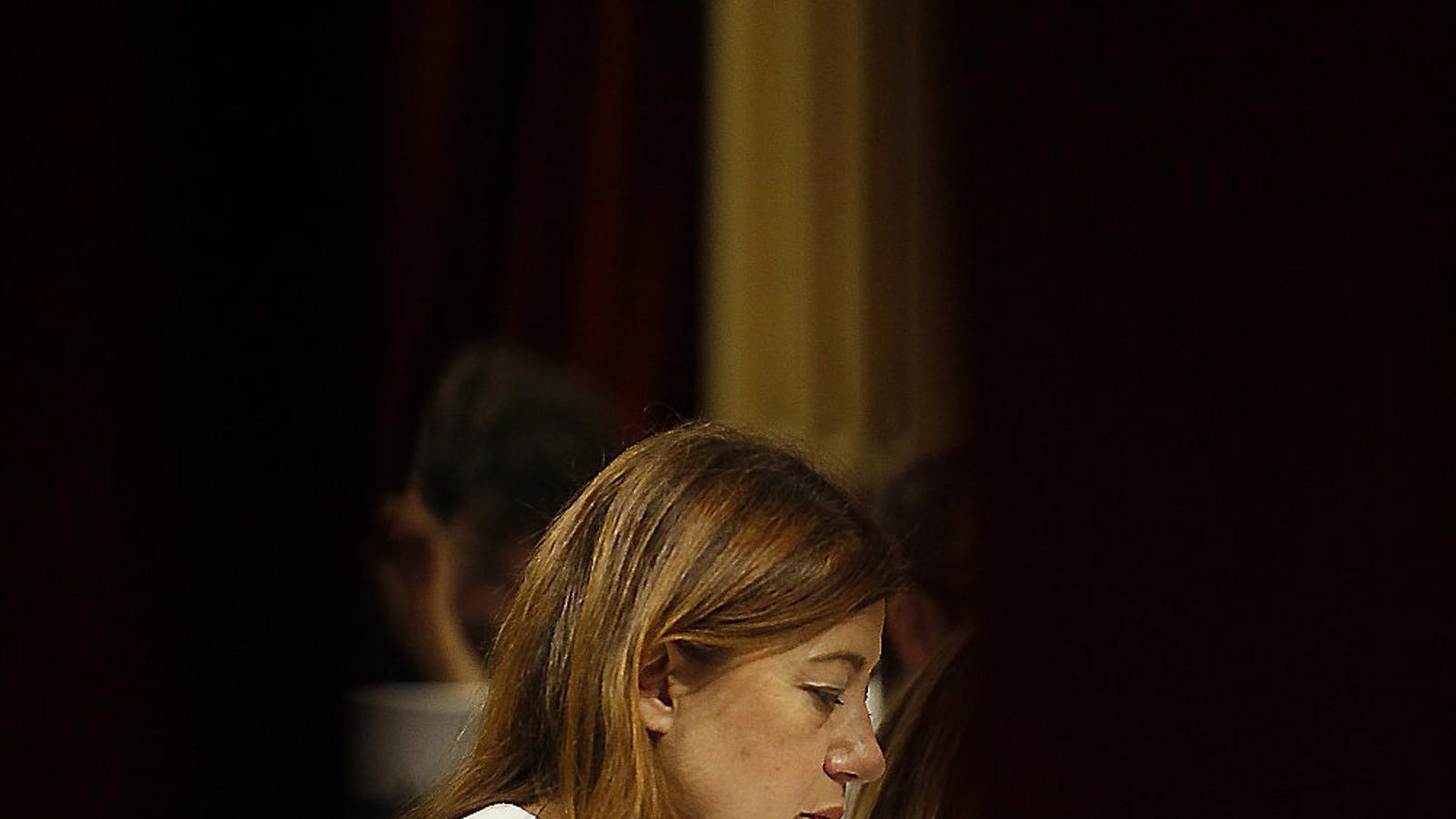 La presidenta del Govern balear, Francina Armengol, en una imatge d'arxiu.