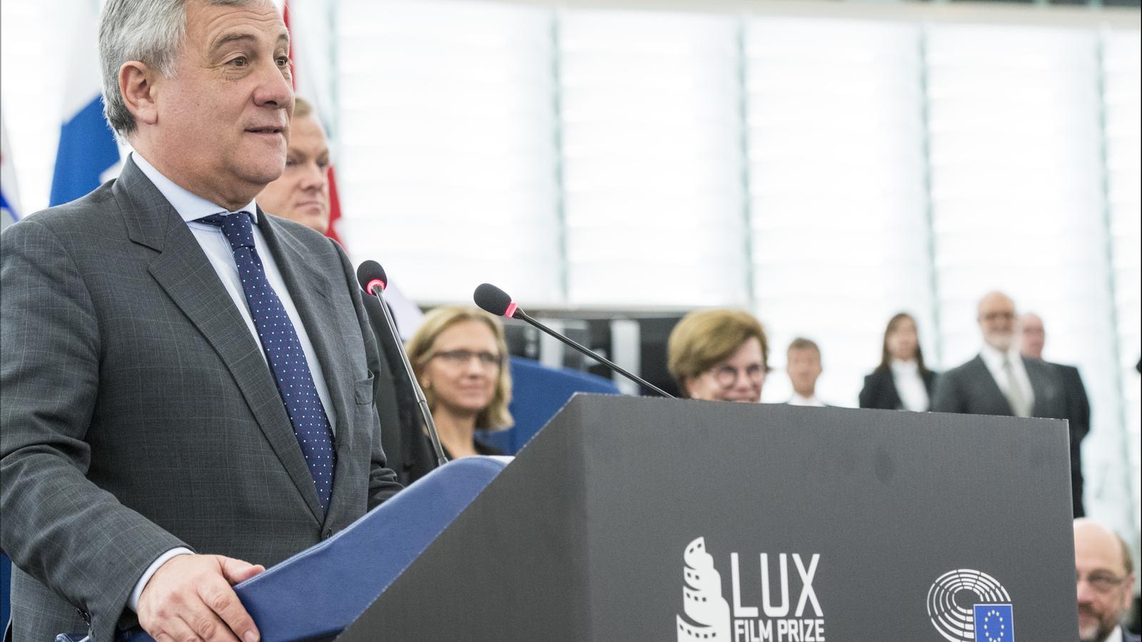 El conservador italià Antonio Tajani és el candidat favorit per convertir-se avui en president del Parlament Europeu