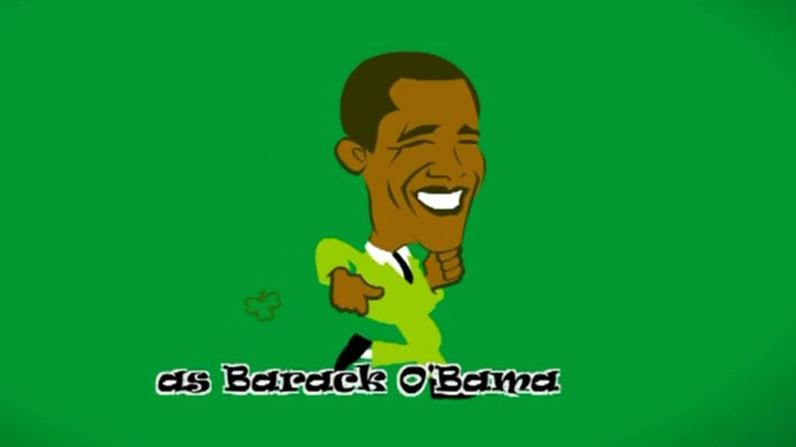 Irlanda dóna la benvinguda a O'bama amb un karaoke
