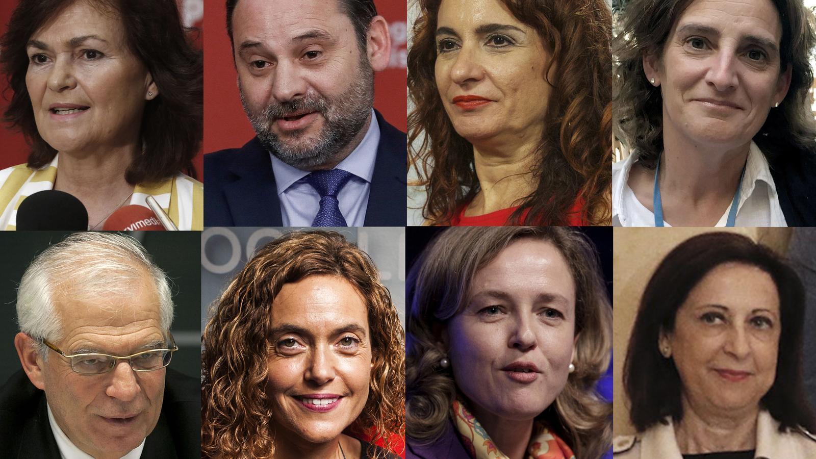 Qui és qui al govern de Sánchez?