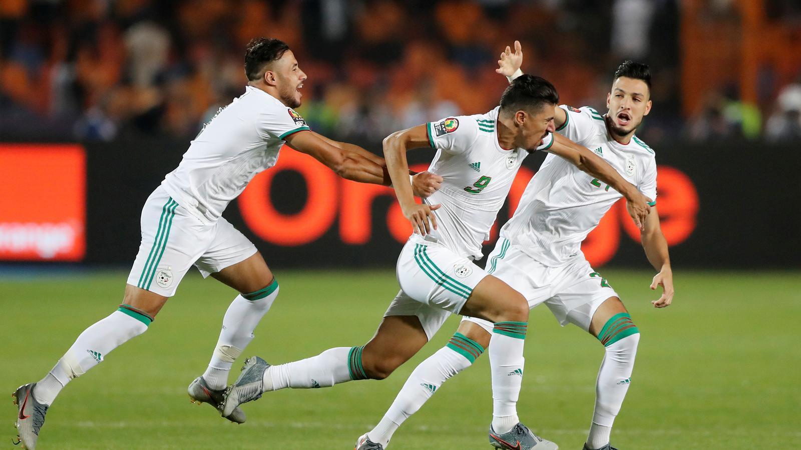L'autor de l'únic gol del partit, Baghdad Bounedjah