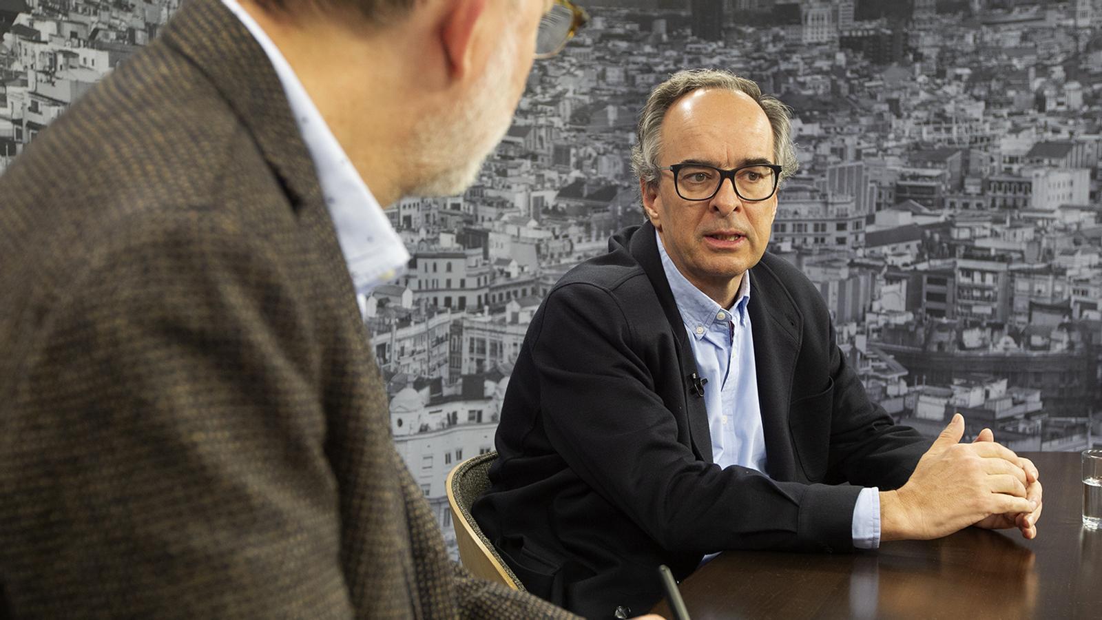 Entrevista d'Antoni Bassas al Dr. Joaquín López-Contreras