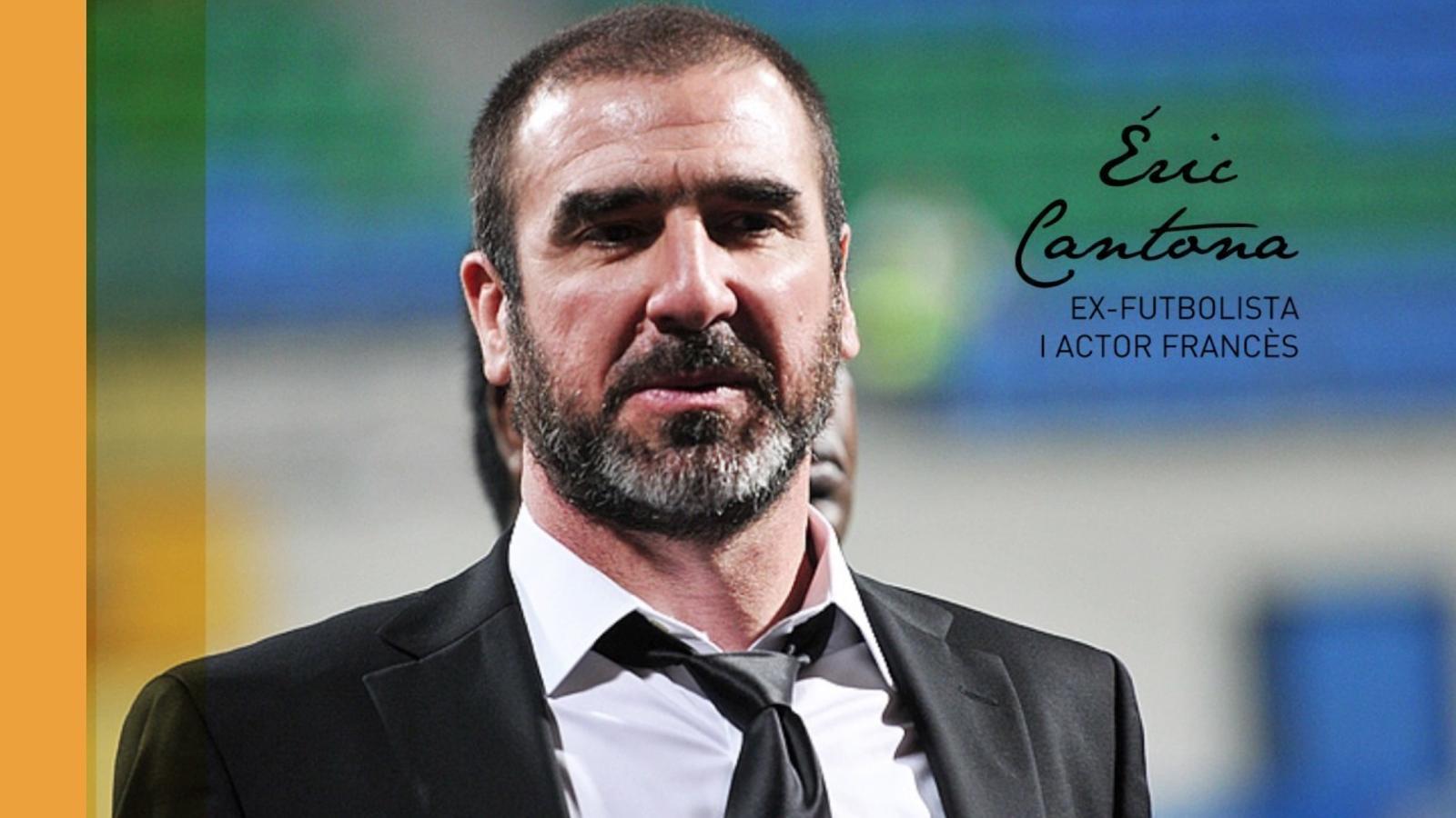 L'ex-futbolista Éric Cantona és un dels signants del manifest