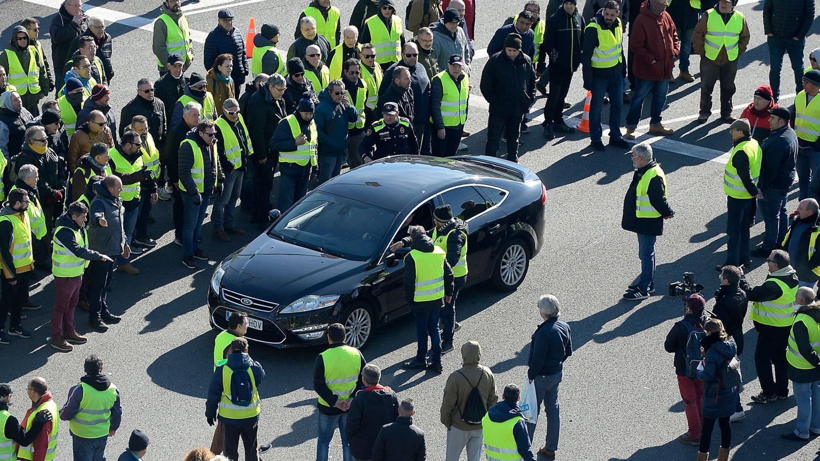 """Dissidència dins la vaga: """"No s'ha gestionat de manera eficaç"""""""