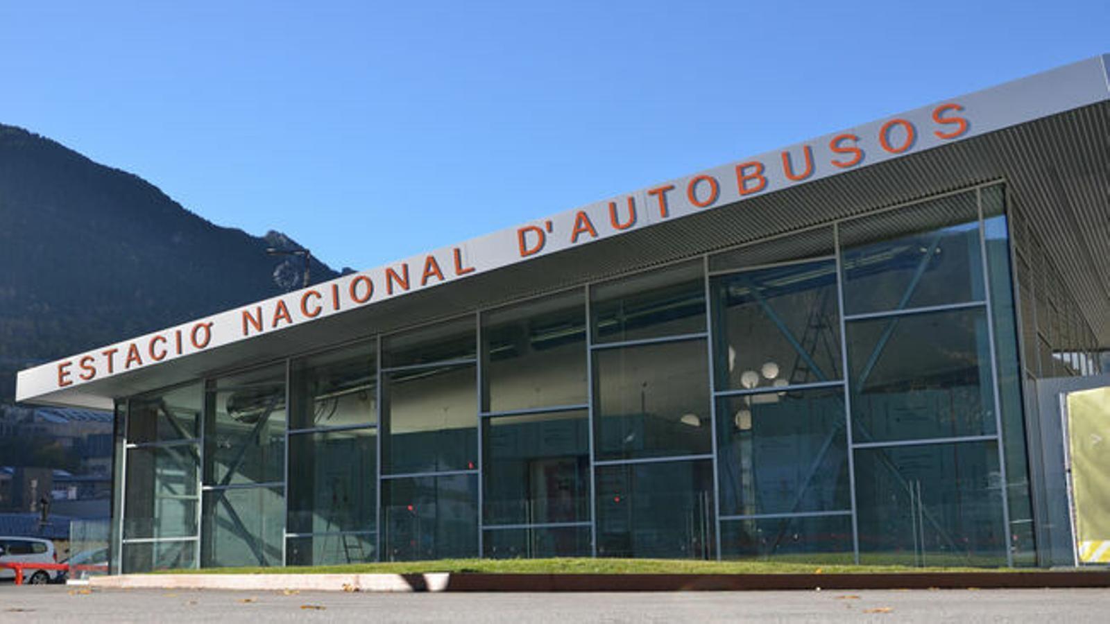 L'estació Nacional d'Autobusos. / ANA
