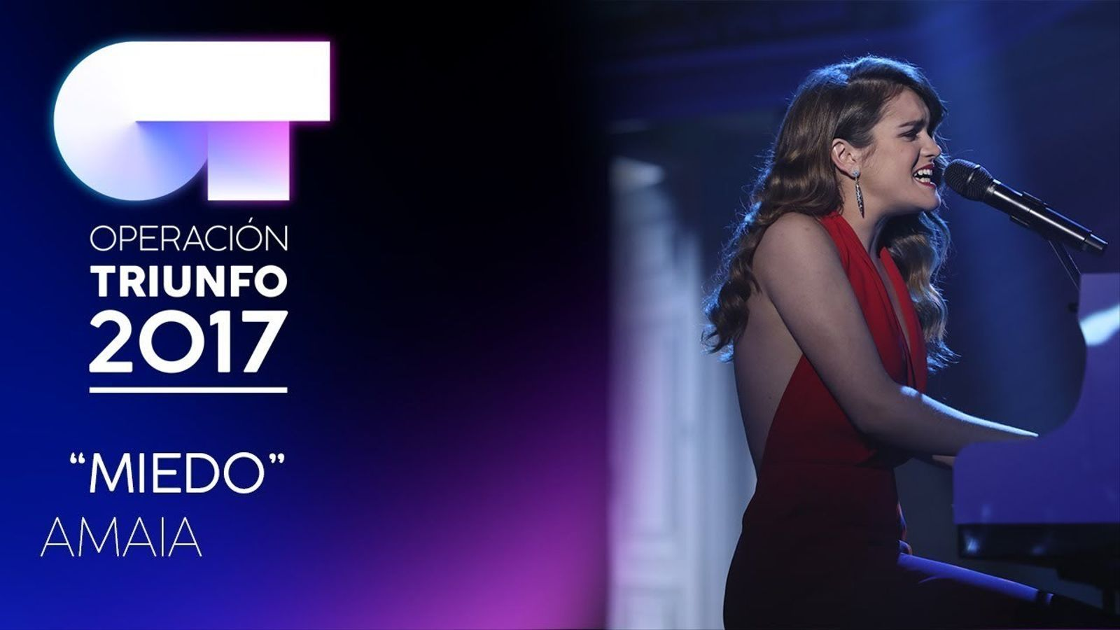 Amaia, guanyadora d''OT', canta 'Miedo' de MClan