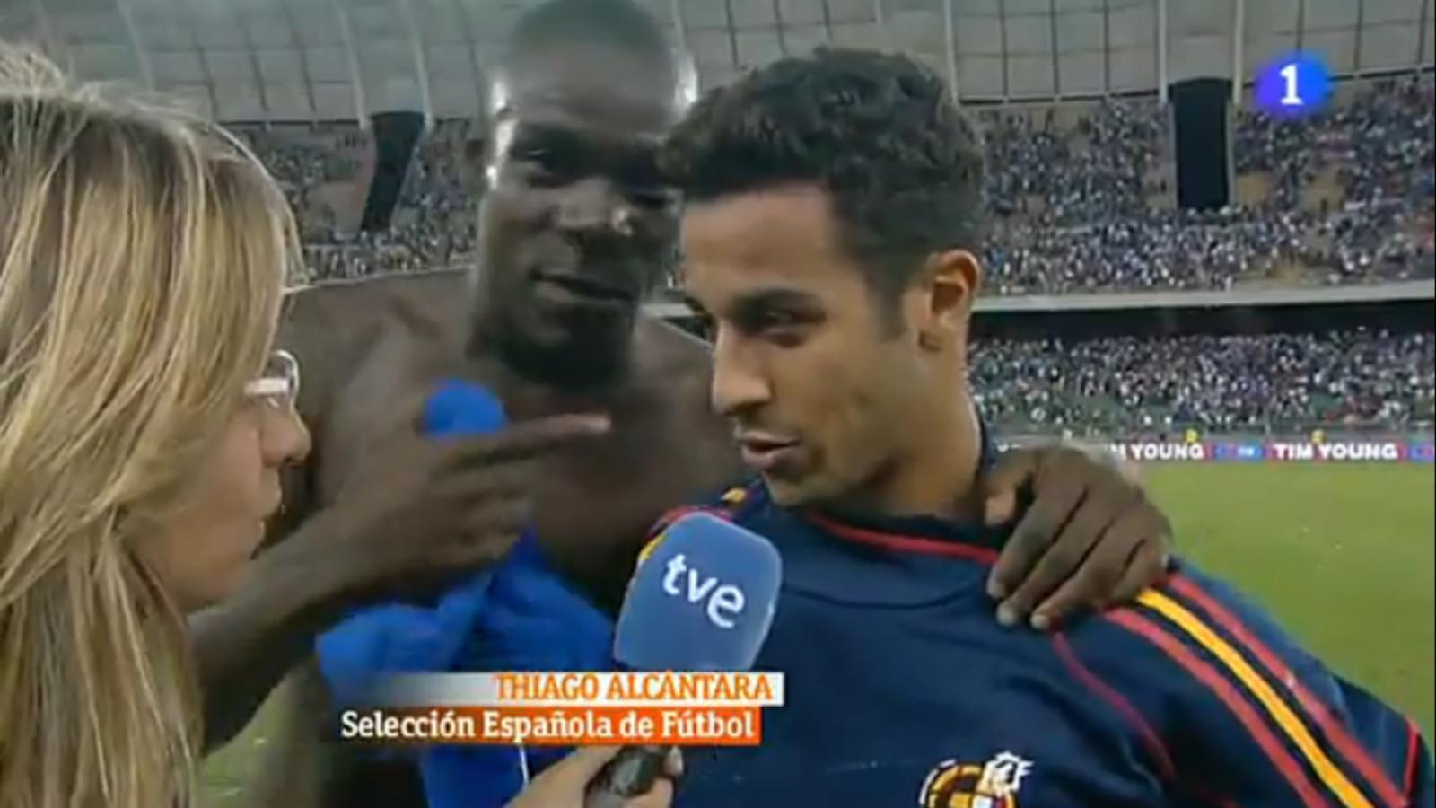 Balotelli: Thiago és el més gran