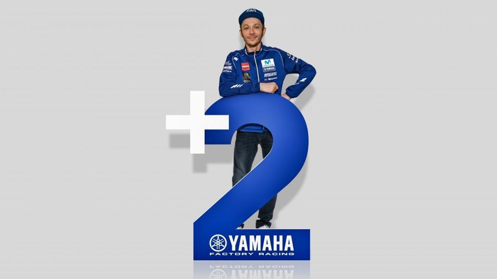 Valentino Rossi renova amb Yamaha fins al 2020