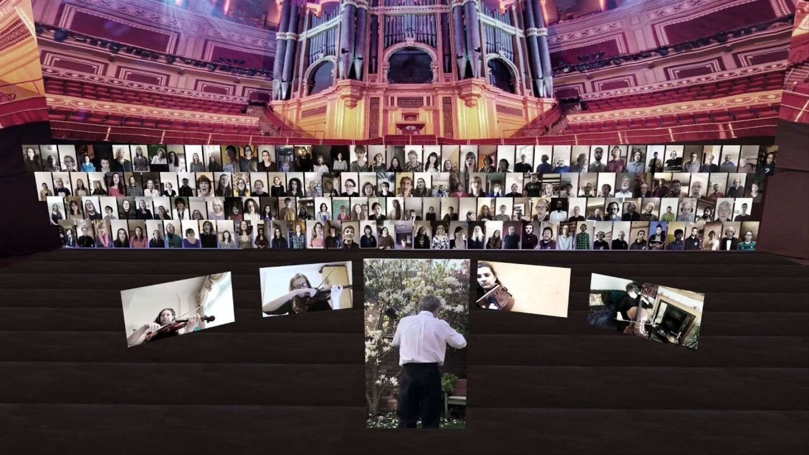 'Ave Verum', de Mozart, per l'Orfeó Català, London Symphony Chorus & CBSO Chorus