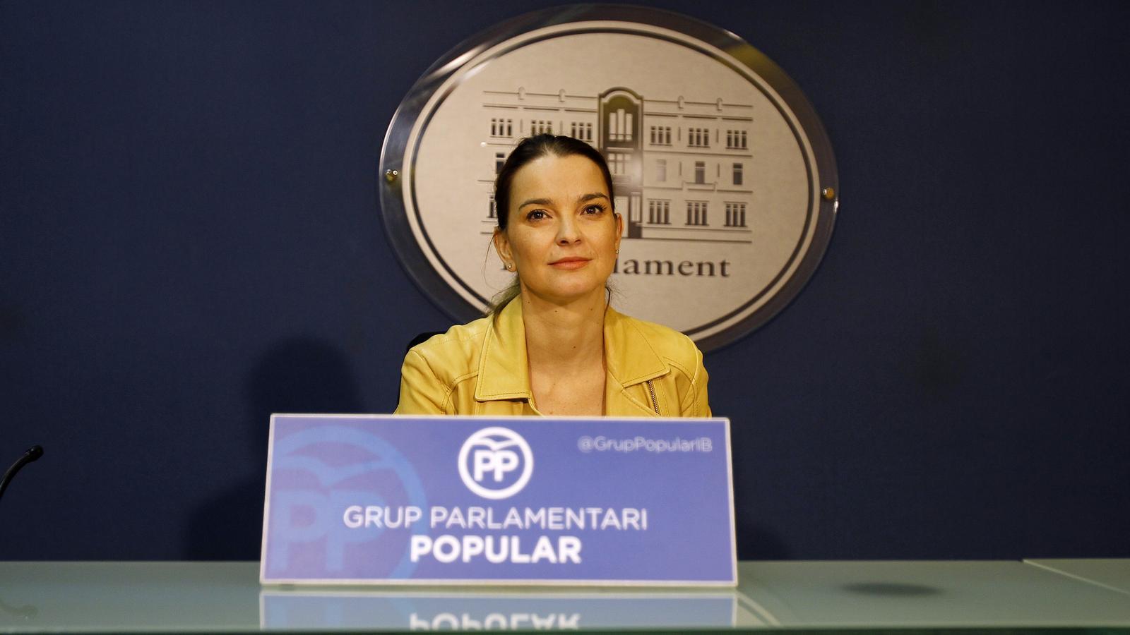 La portaveu parlamentària del PP, Marga Prohens
