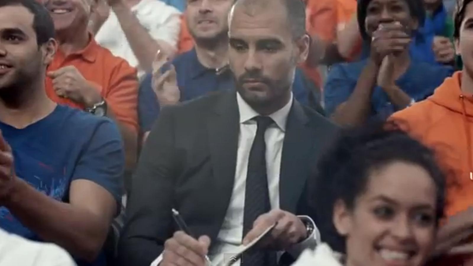 Guardiola, Piqué, Iniesta, Neymar i Cristiano, protagonistes del darrer anunci de Nike