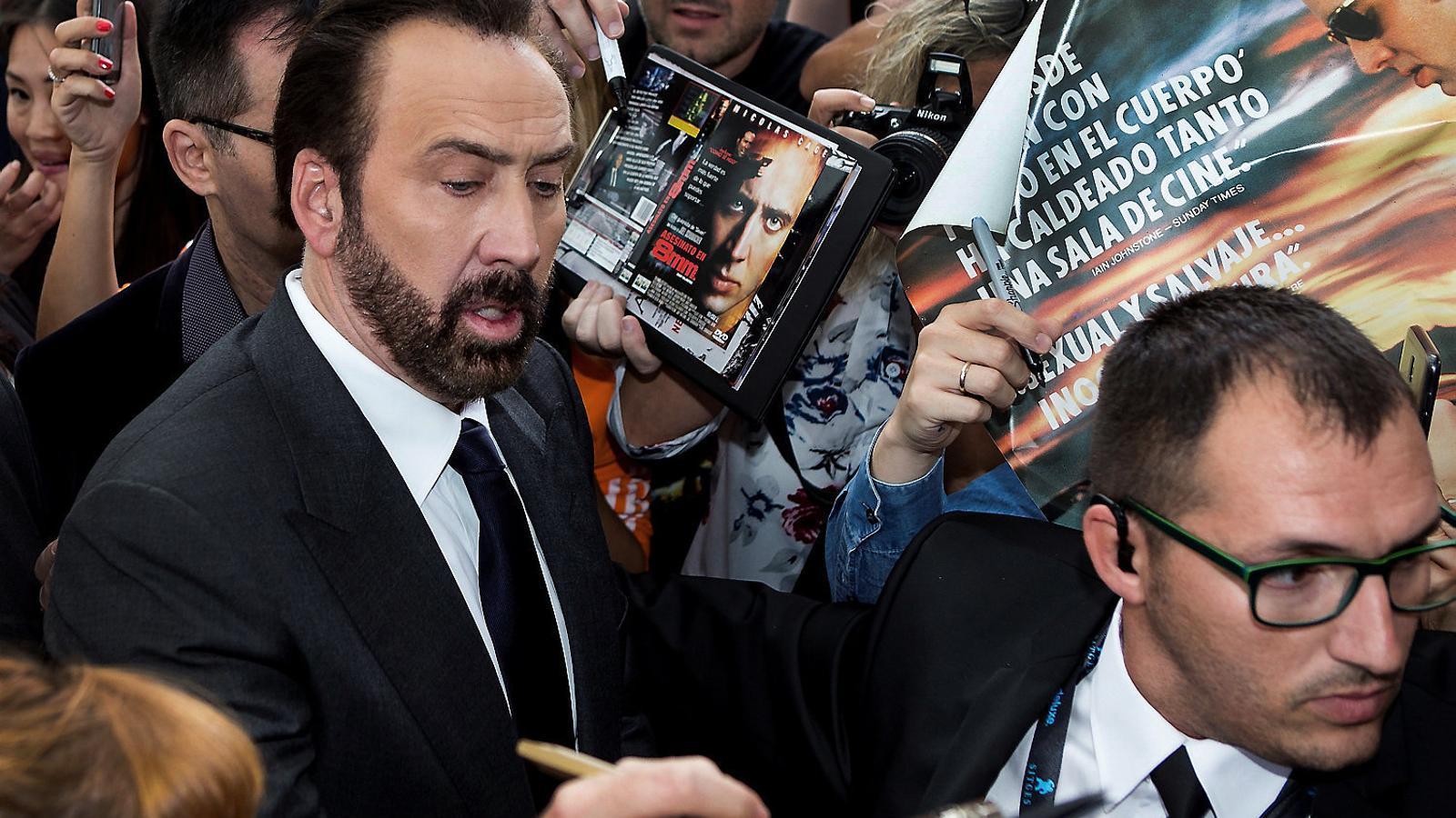 Nicolas Cage embogeix Sitges