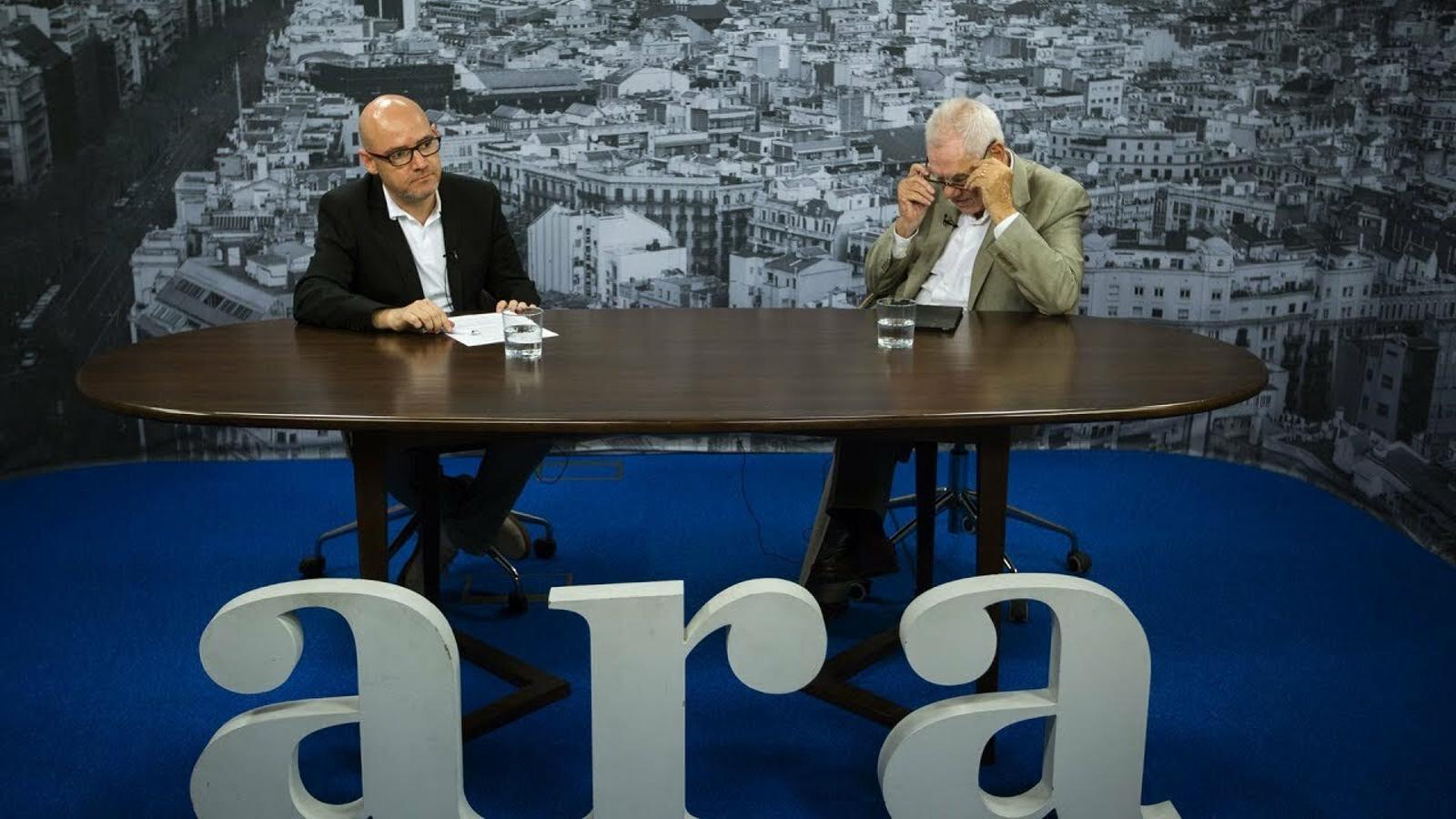Entrevista de David Miró a Ernest Maragall