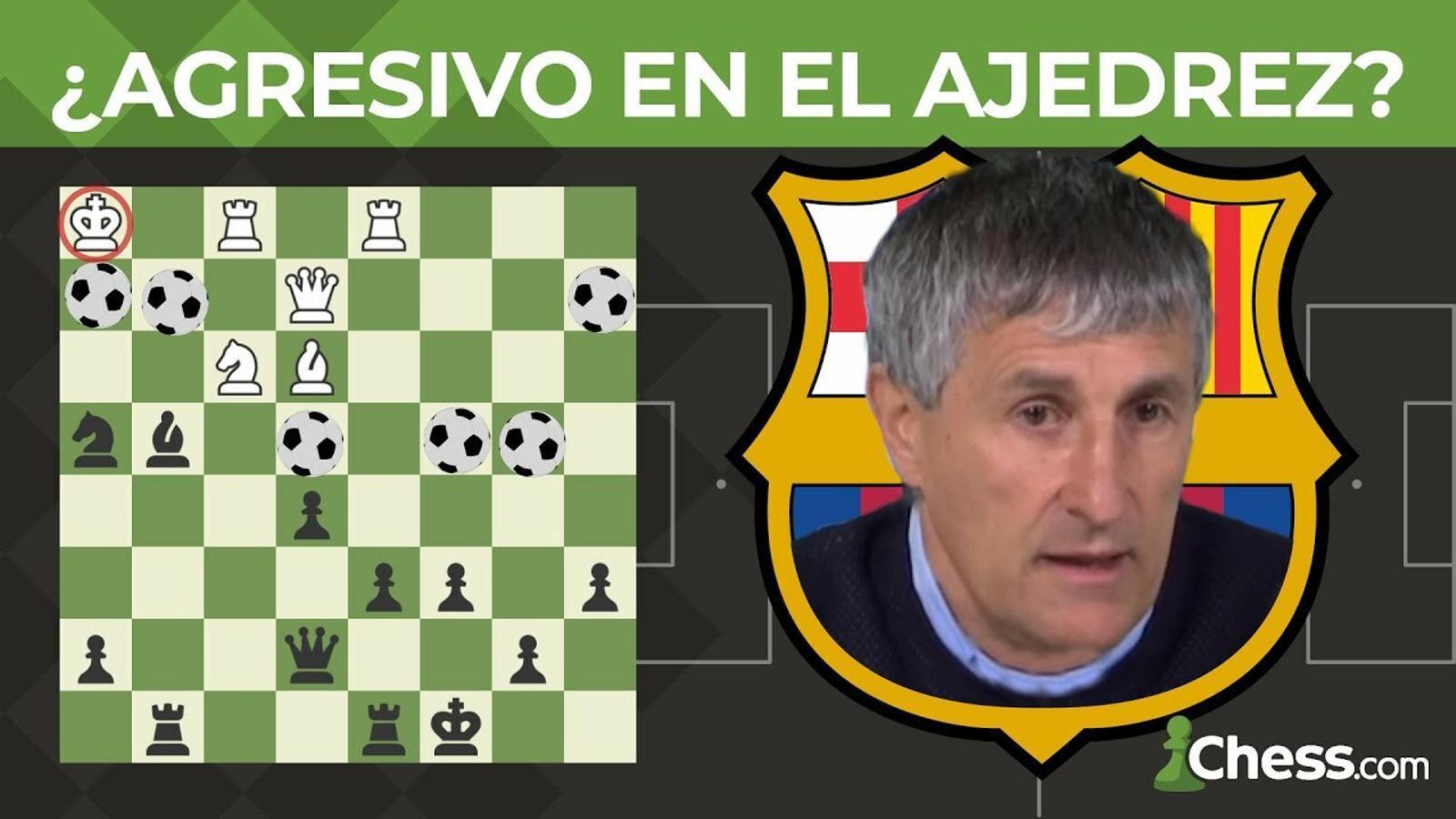 L'estil de joc de Setién als escacs