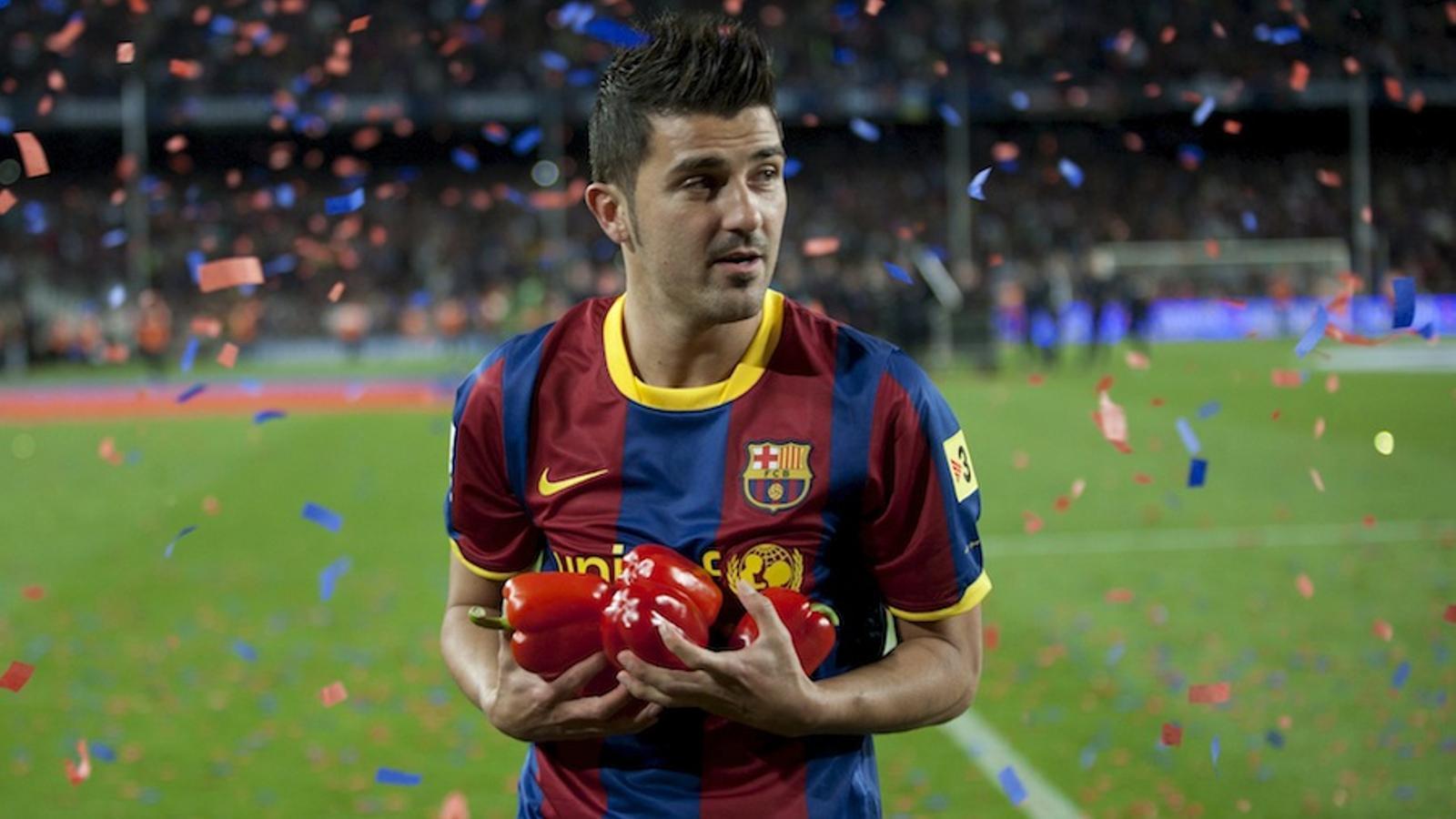 David Villa anuncia la retirada del futbol professional al desembre