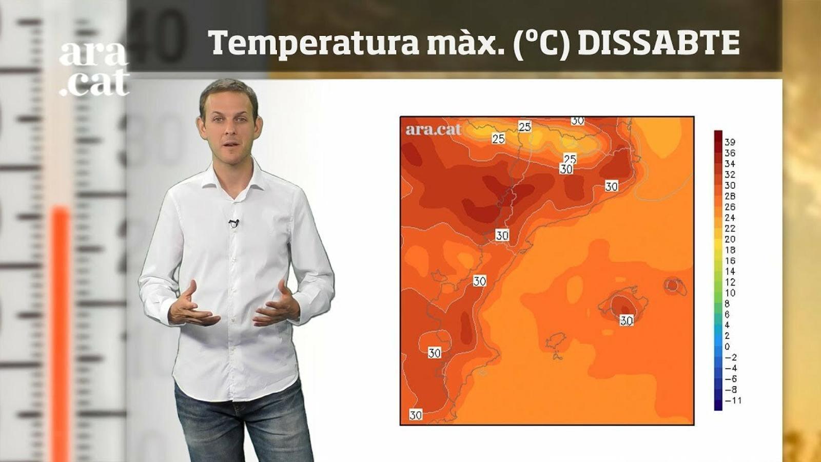 La méteo en 1 minut: cap de setmana de sol i calor