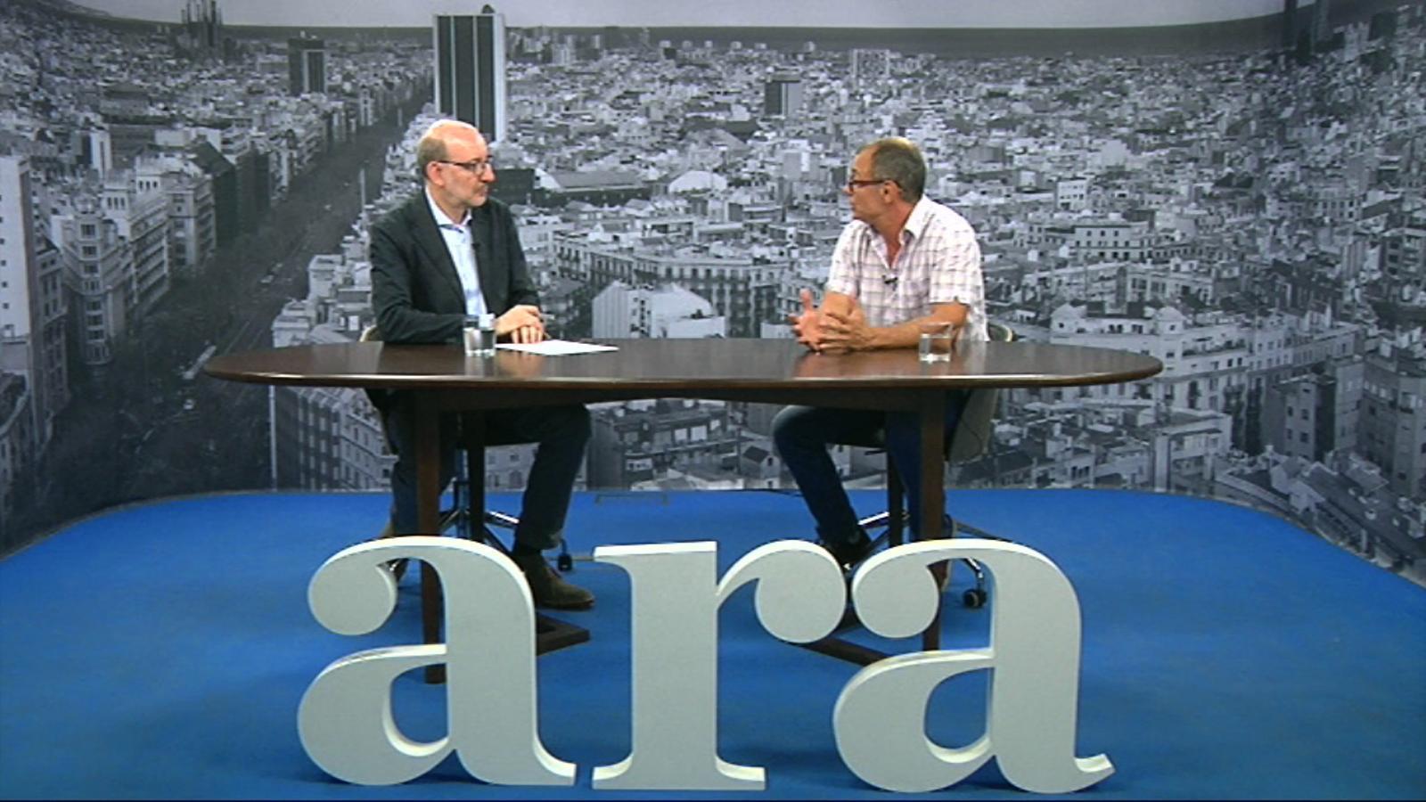 Entrevista d'Antoni Bassas a Joan Tubau
