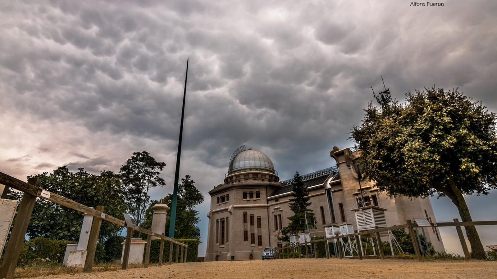 L'Observatori Fabra ja és una estació centenària de l'Organització Meteorològica Mundial