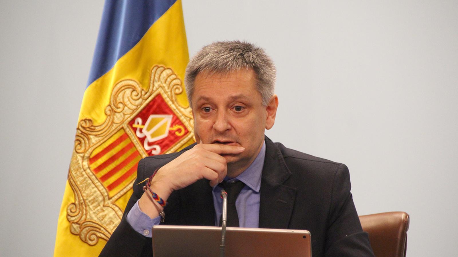 El ministre d'Economia, Competitivitat i Innovació en funcions, Gilbert Saboya participarà a la jornada. / ARA