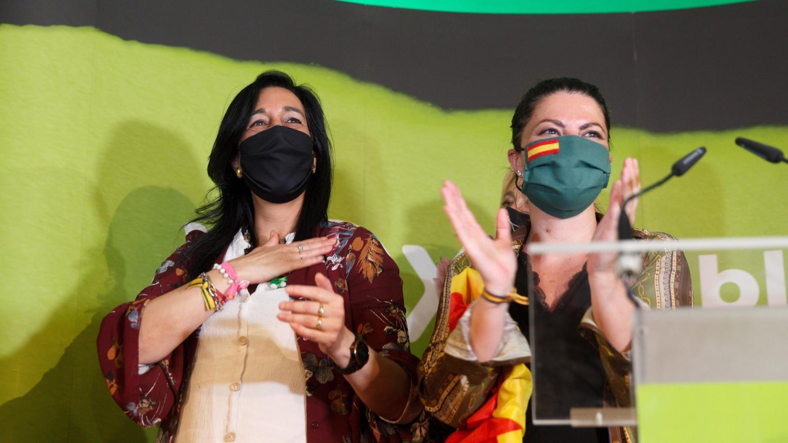 Vox a la nit electoral d'Euskadi