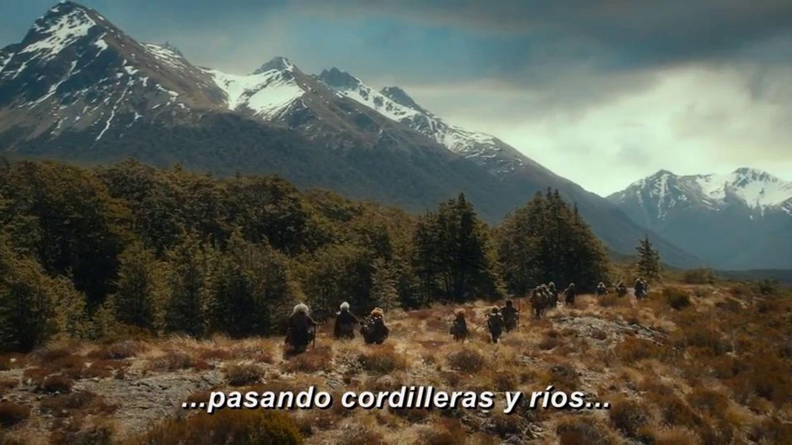 Nou tràiler d''El hobbit' de Peter Jackson