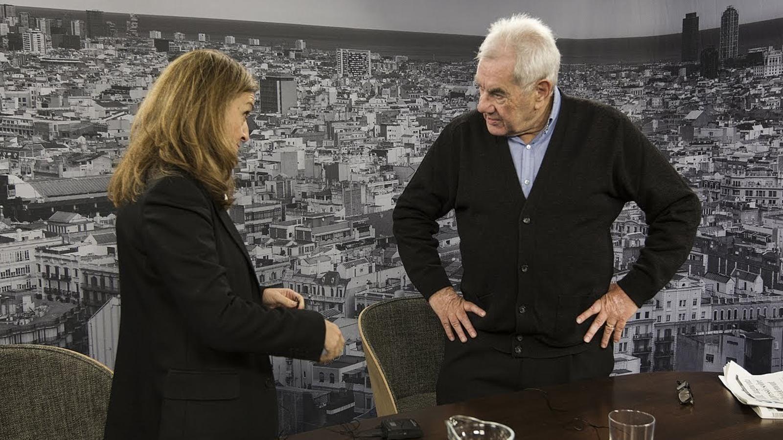 Entrevista d'Esther Vera a Ernest Maragall