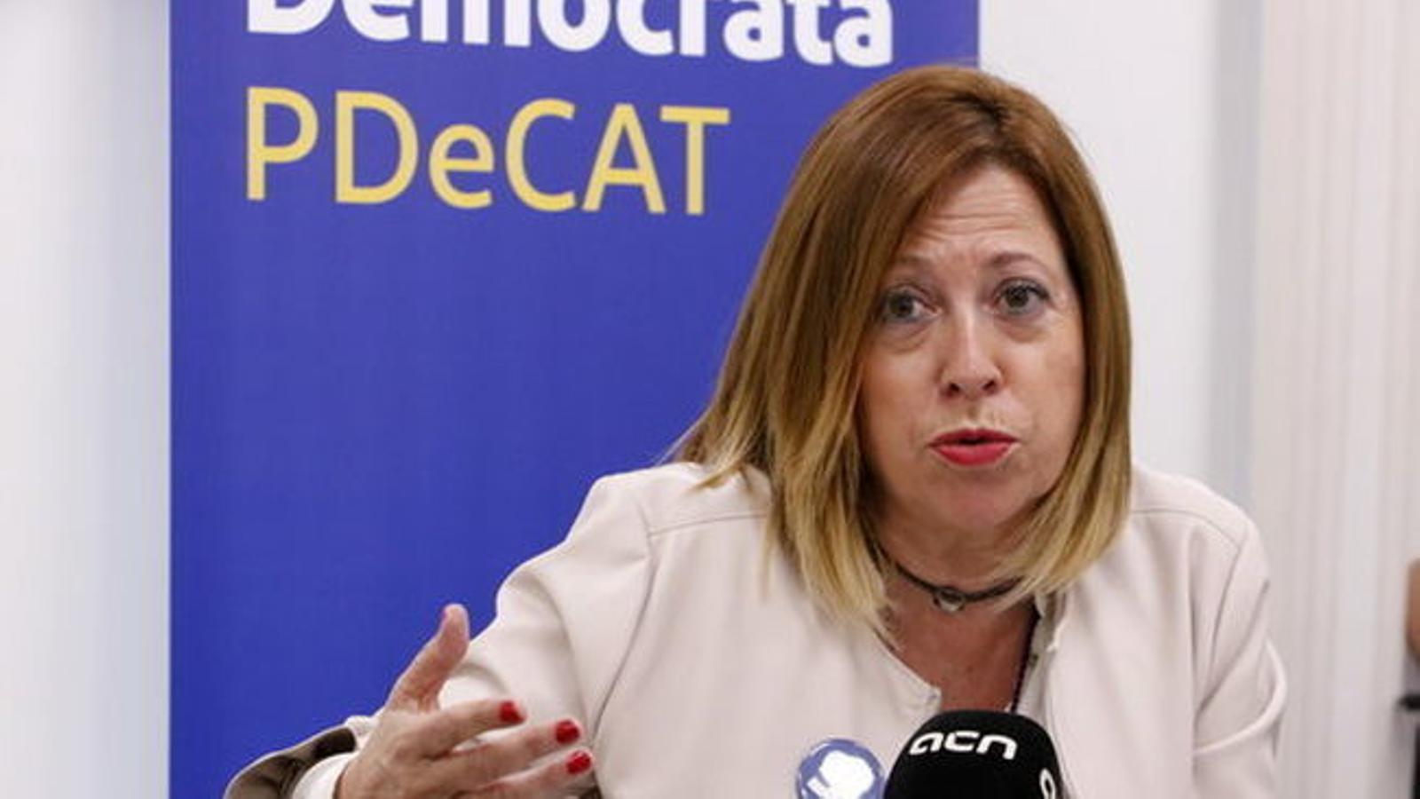 """Candini avisa que""""la relació del PDECat amb la Crida Nacional no passarà mai per la fusió ni l'absorció"""""""
