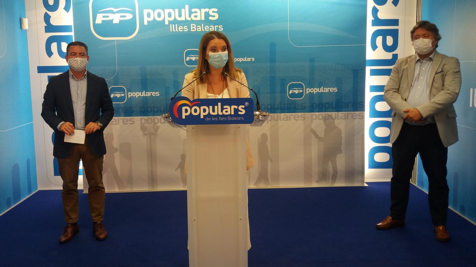 La portaveu del PP al Congrés, Marga Prohens.