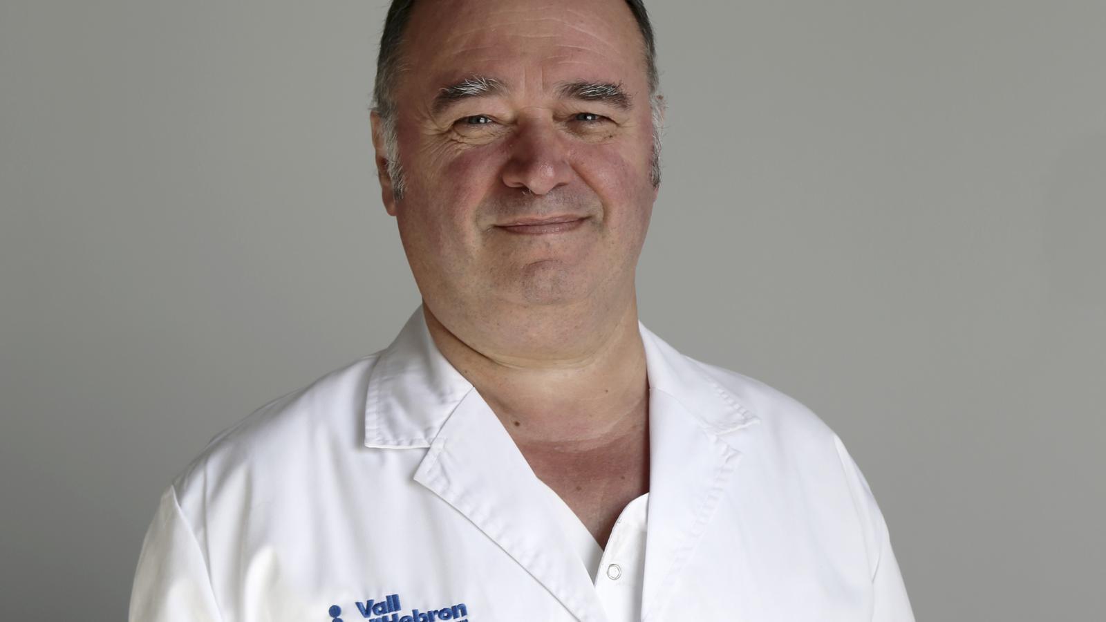 Dr. Antonio Roman, director assistencial de l'Hospital Vall Hebron