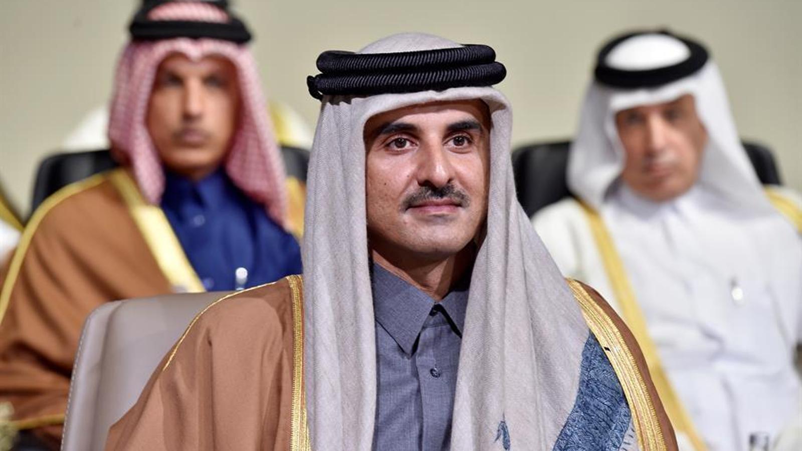 L'emir de Qatar, Tamim bin Hamad bin Khalifa Al-Thani, en una imatge d'arxiu