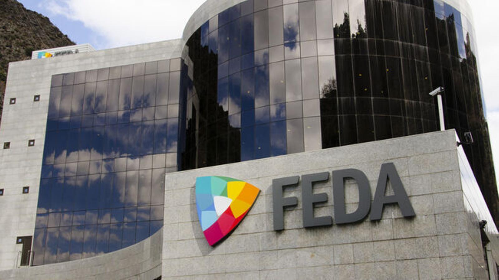 L'edifici de FEDA. / ARXIU ANA