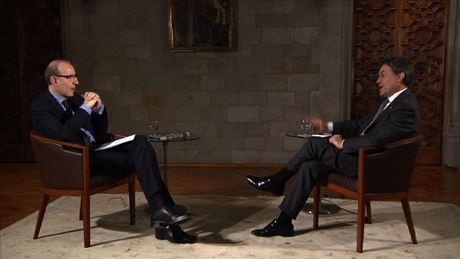 Artur Mas: Madrid ha curtcircuitat els ponts de diàleg