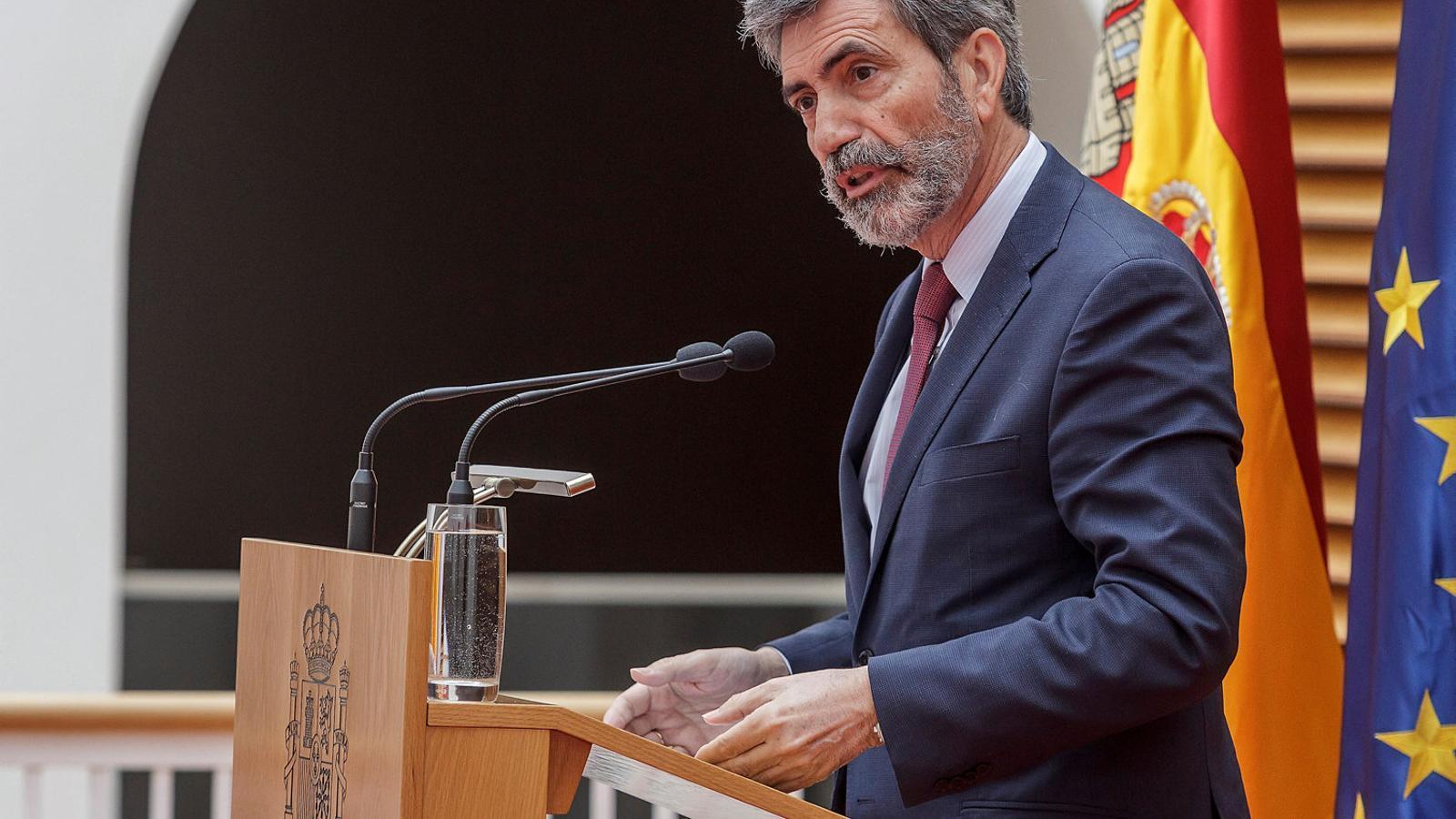 Carlos Lesmes, president del Tribunal Suprem i del Poder Judicial, fa uns dies.