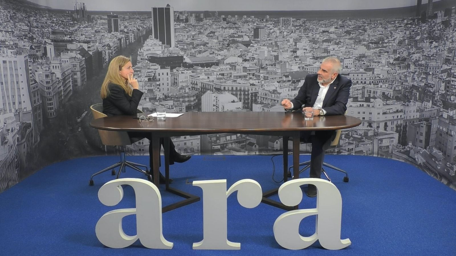 Entrevista d'Esther Vera a Carlos Carrizosa
