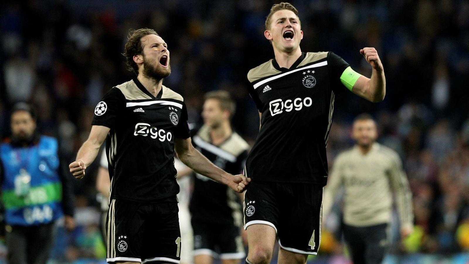 El central holandès de l'Ajax Matthijs de Ligt, de 19 anys.