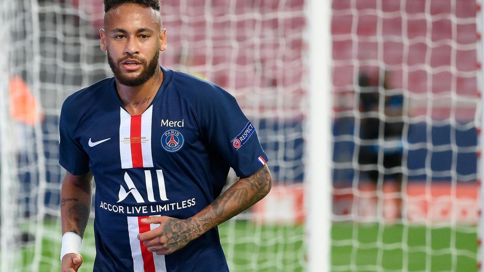 Neymar vol guanyar la Champions amb el PSG.