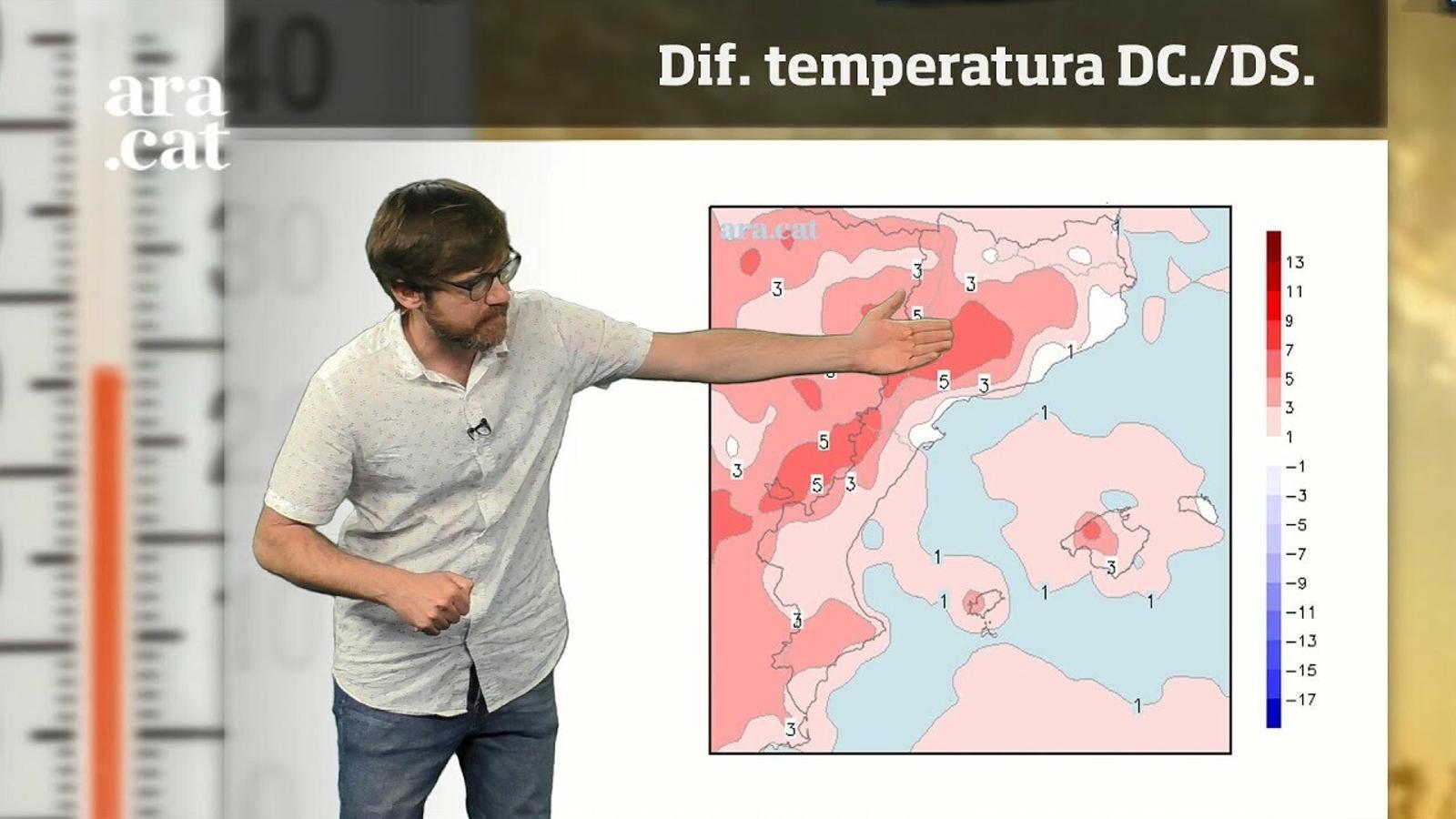 La méteo en 1 minut: la calor marcarà l'inici del cap de setmana, les tempestes el final