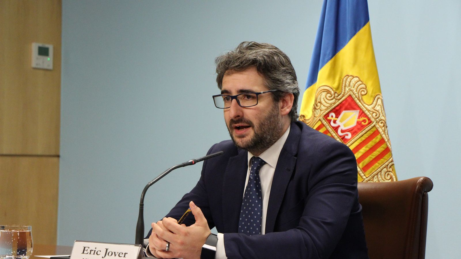 Eric Jover, ministre portaveu. / ARXIU ANA