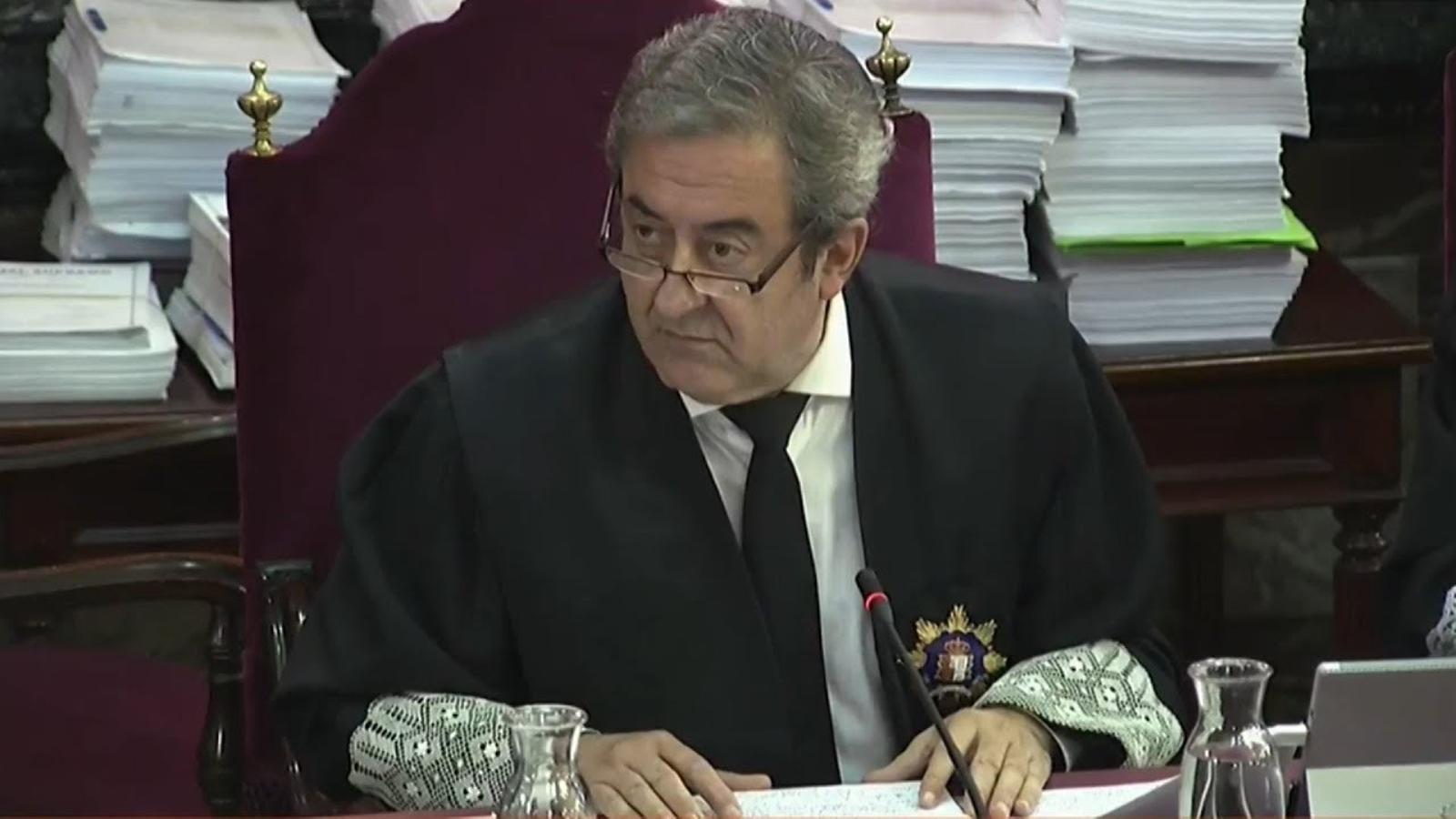 """Javier Zaragoza, fiscal: """"L'1-O només hi va haver dos ferits greus"""""""