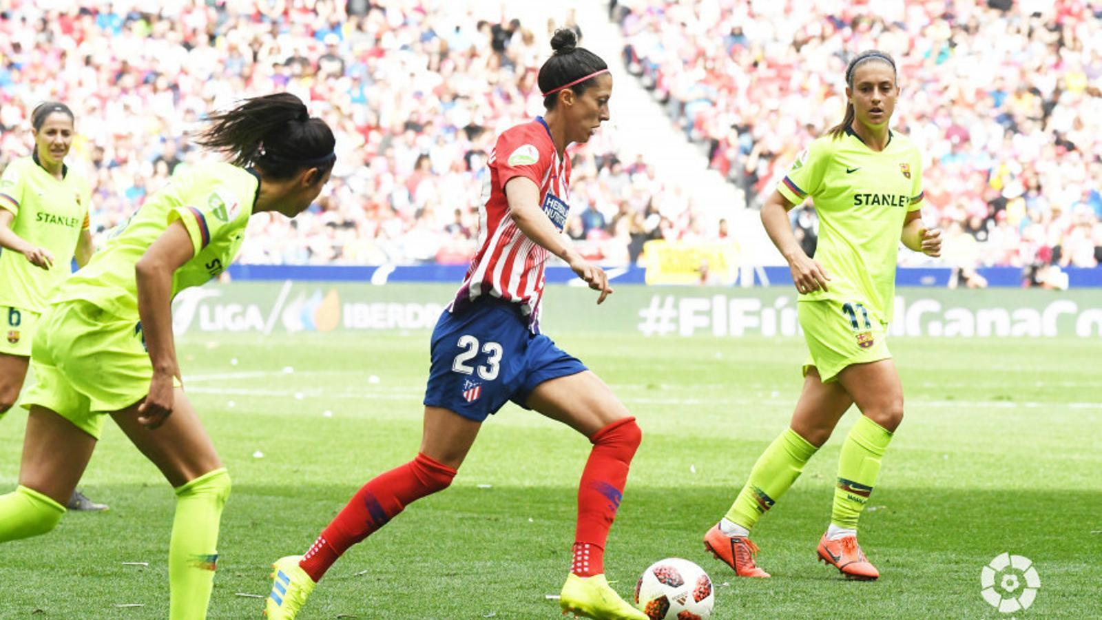 El Barça li pren Jenni Hermoso a l'Atlètic de Madrid