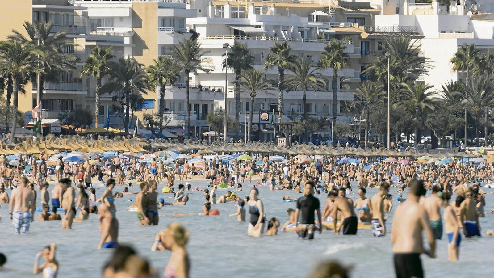 El turisme s'ha vist greument afectat a les Balears per la crisi del coronavirus