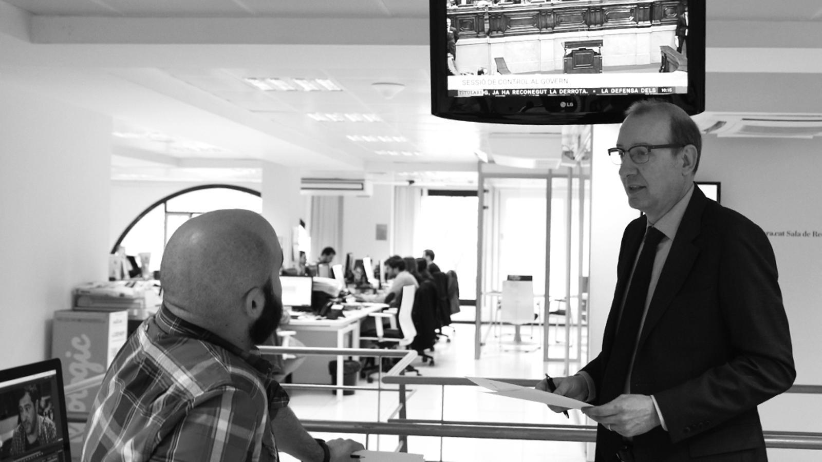 L'Editorial d'Antoni Bassas: 'Entre l'absolució i tres anys de presó' (18/03/15)